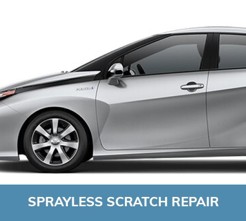 Sprayless scratch repair, smart cpr, dublin